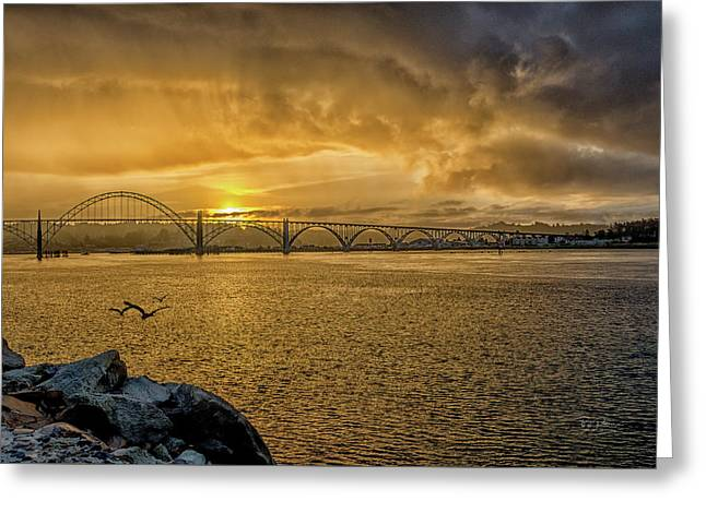 Newport Morning Greeting Card