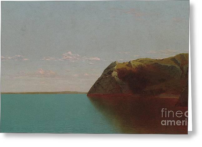 Newport Rocks, 1872 Greeting Card