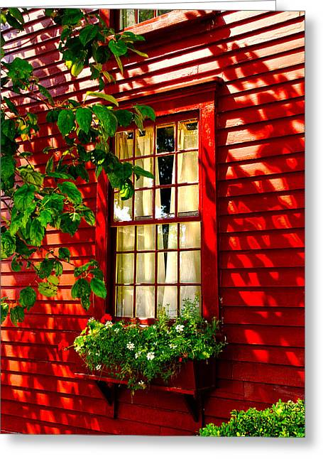 Newport Window Greeting Card