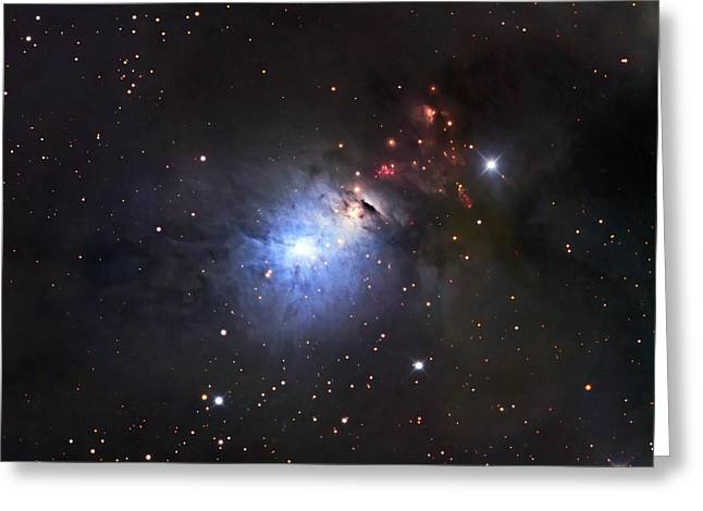 Ngc 1333, A Reflection Nebula And Part Greeting Card by Robert Gendler