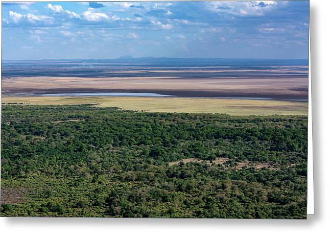 Ngorongoro Crater, Tanzania, East Africa Greeting Card
