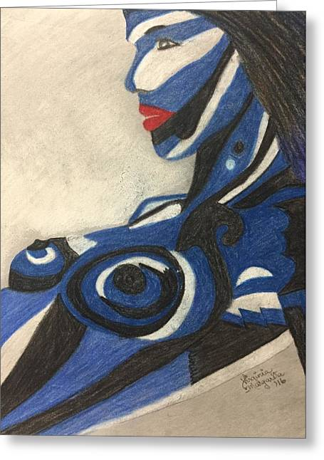 #tbl #nhl Team Colors 16-t1 Greeting Card by Virginia Margarita