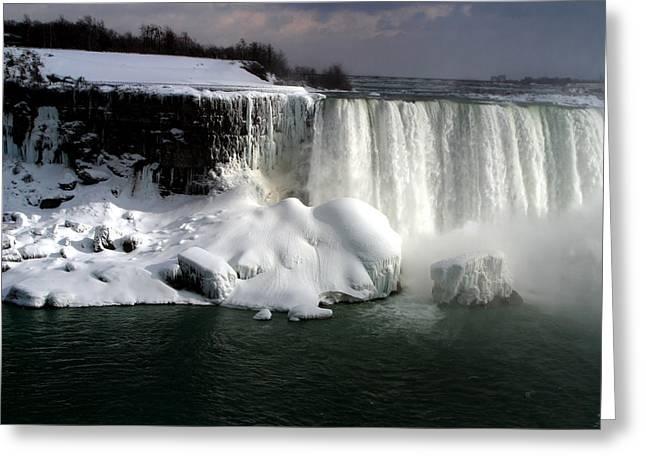 Niagara Falls 6 Greeting Card by Anthony Jones