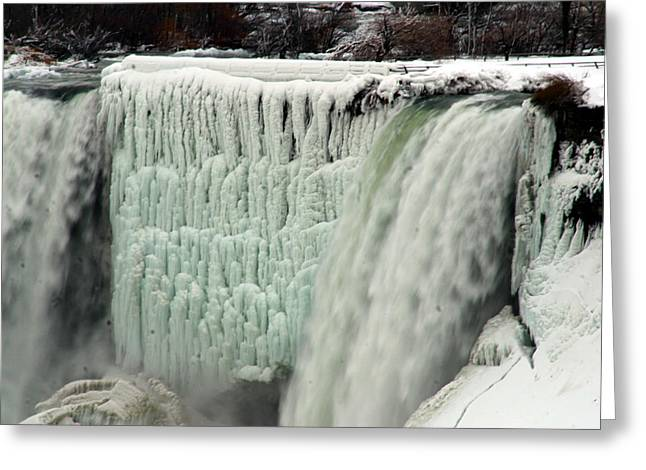 Niagara Falls 7 Greeting Card by Anthony Jones