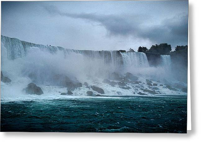 Niagara Falls Canada Greeting Card by Martin Newman