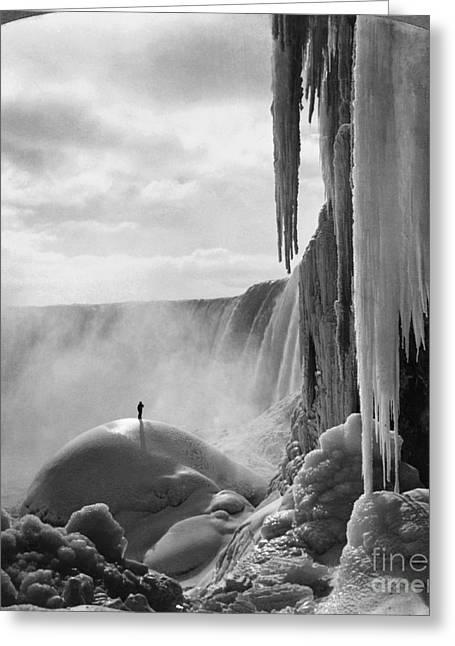 Niagara Falls: Frozen Greeting Card by Granger