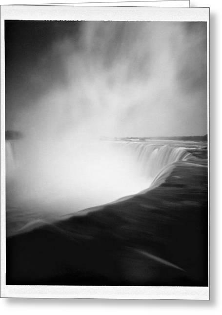 Niagara Falls Greeting Card by Luca Baldassari