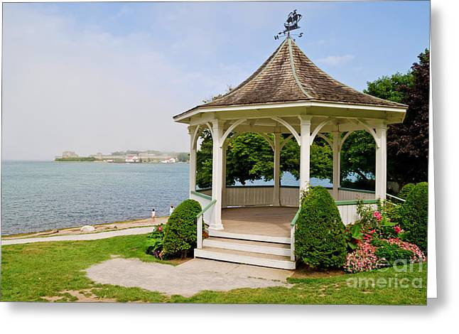 Niagara On The Lake Gazebo 2014 Greeting Card