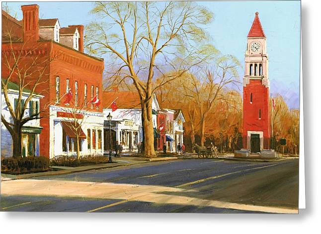 Niagara On The Lake Greeting Card by Michael Swanson