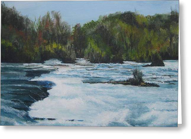 Niagra Rapids Greeting Card
