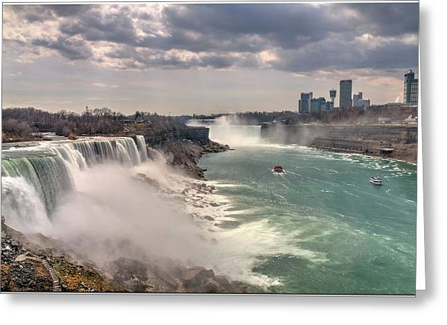 Niagra Waterfalls Greeting Card