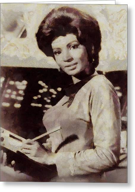 Nichelle Nichols, Lt. Ururu, Star Trek Vintage Greeting Card
