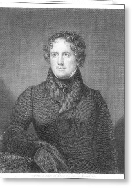 Nicholas Biddle (1786-1844) Greeting Card by Granger