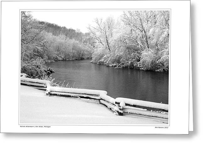 Nichols Arboretum #5 Greeting Card