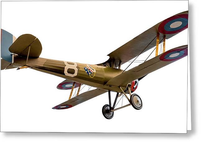Nieuport 28c-1  Greeting Card by Gary Warnimont