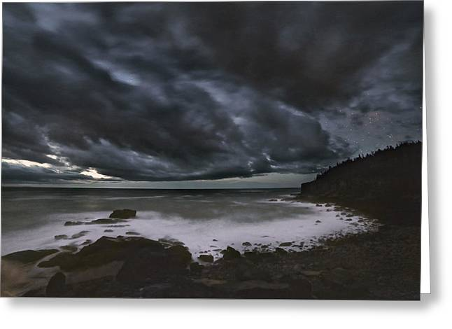 Night At Boulder Beach Greeting Card