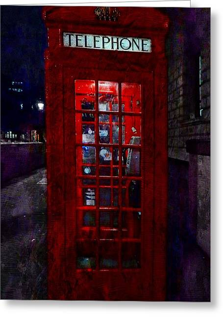Night Call Greeting Card by Dorothy Berry-Lound