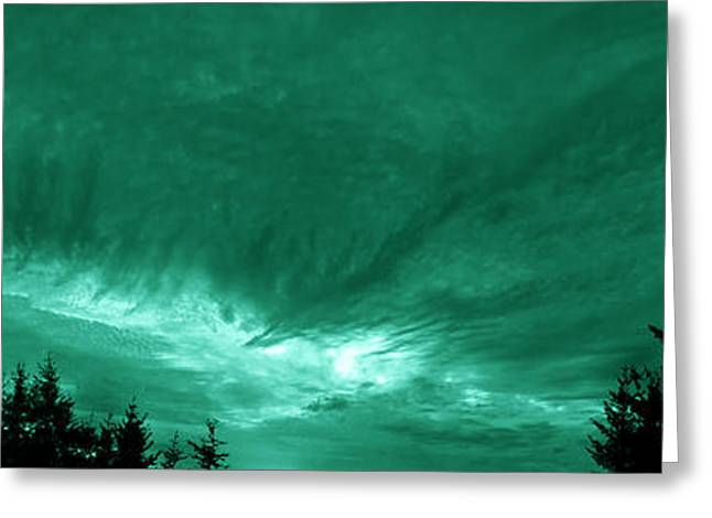 Night Clouds Greeting Card