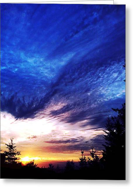 Night Clouds IIi Greeting Card