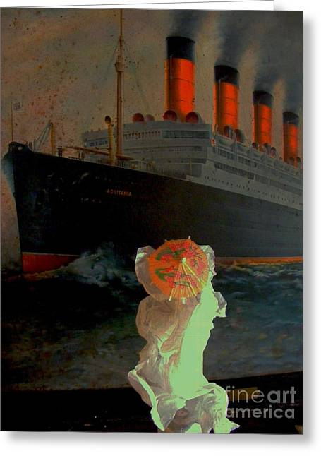 Night Crossing Greeting Card by Nancy Kane Chapman