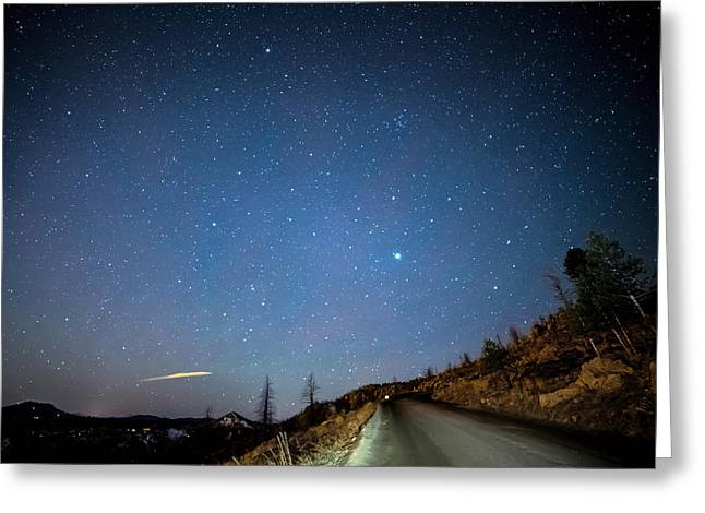Night Drive Greeting Card by James BO Insogna