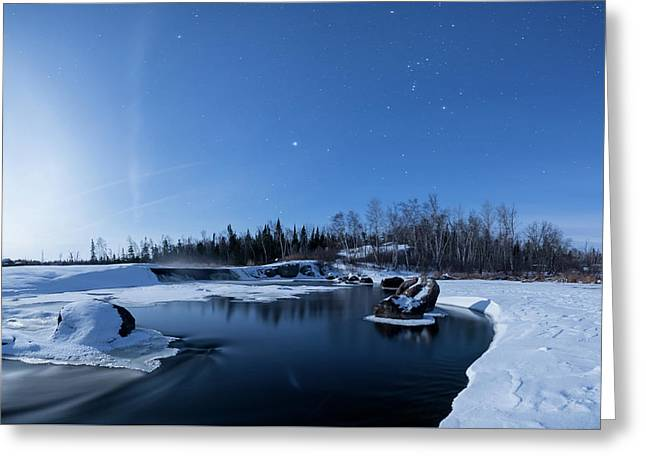 Night Into Day Greeting Card
