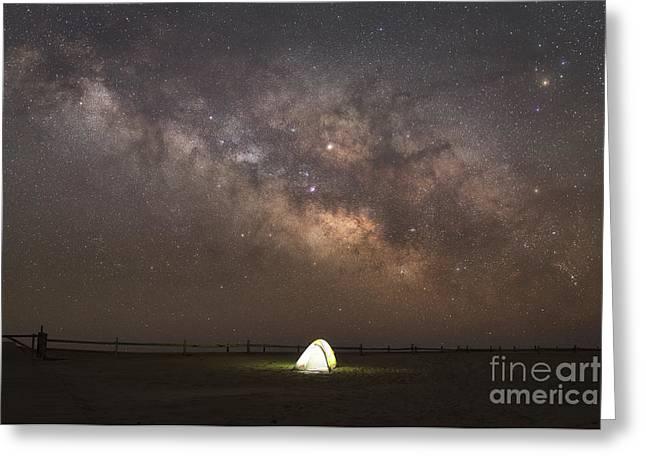 Night Light  Greeting Card by Michael Ver Sprill