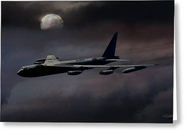 Night Moves B-52 Greeting Card