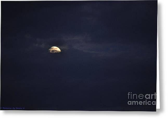 Night Moves Greeting Card