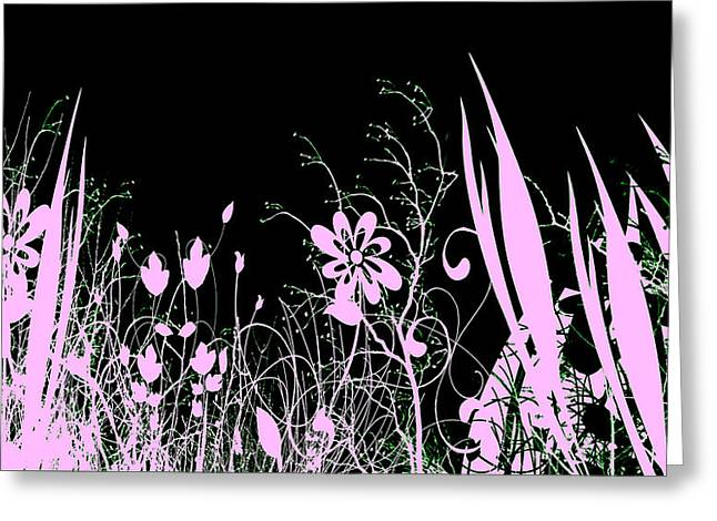 Night Of The Flowers Greeting Card by Evelyn Patrick