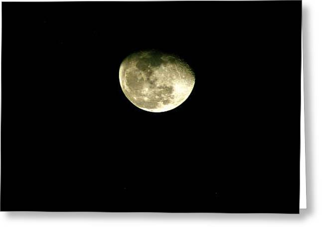 Night Reflection Greeting Card by Don Prioleau
