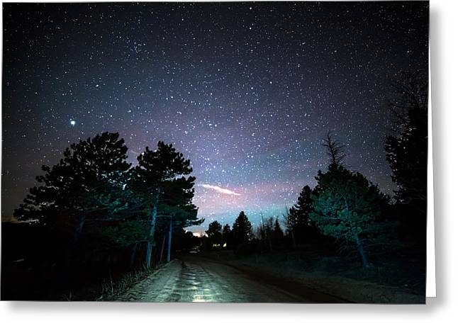 Night Rider Greeting Card by James BO Insogna
