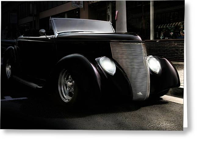 Night Rod Greeting Card by Peter Chilelli