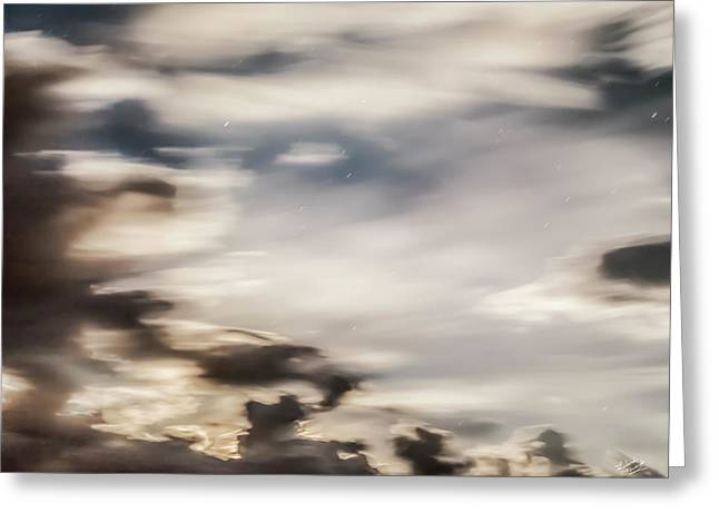 Greeting Card featuring the photograph Night Sky 2 by Leland D Howard