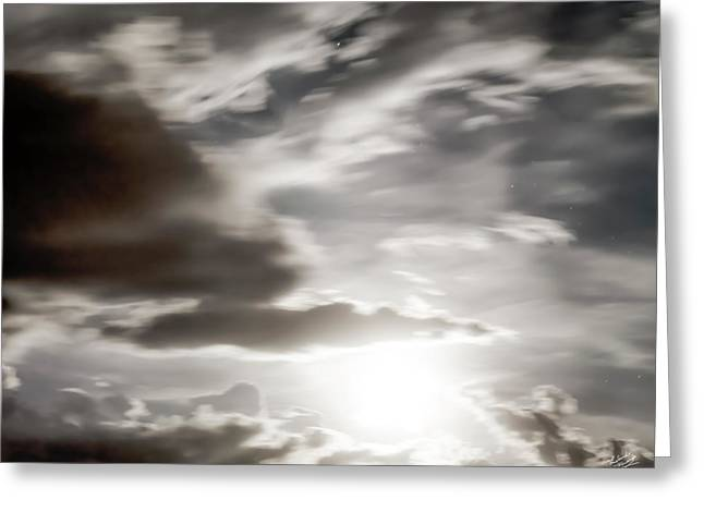 Greeting Card featuring the photograph Night Sky 5 by Leland D Howard