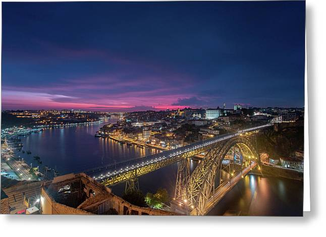 Greeting Card featuring the photograph Night Sky by Bruno Rosa