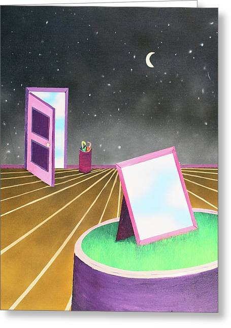 Night Greeting Card