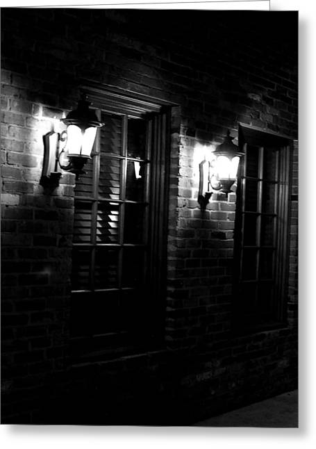 Night Time Greeting Card by Maggy Marsh