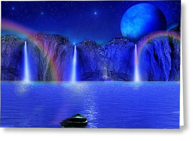 Nightdreams Greeting Card
