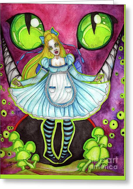 Nightmare Greeting Card by Coriander Shea