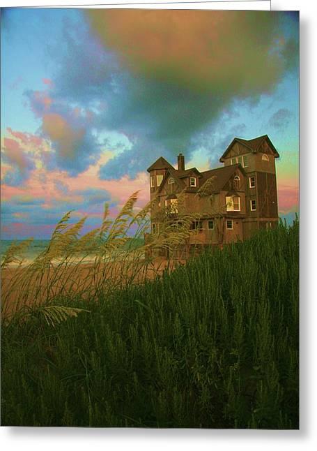 Nights In Rodanthe Greeting Card by John Handfield