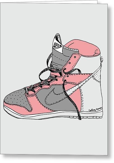 Nike Dunk 005 Greeting Card