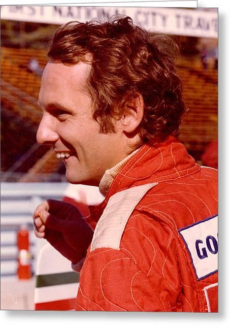 Niki Lauda 1975 Greeting Card