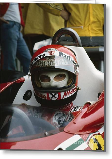 Niki Lauda. 1977 Austrian Grand Prix Greeting Card