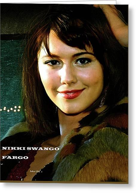 Nikki Swango, Fargo Season 3, Mary Elizabeth Winstead, Passion For Competitive Bridge Greeting Card
