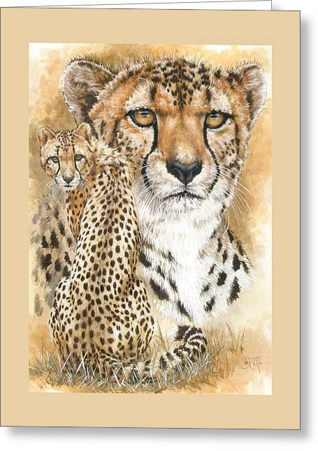 Nimble Greeting Card by Barbara Keith