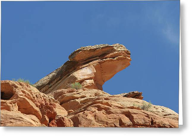 Nine Mile Canyon Utah  Greeting Card by Christine Till