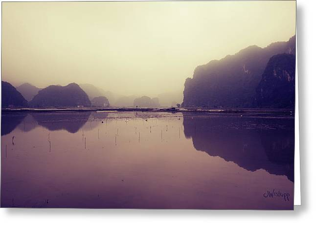 Ninh Binh Greeting Card by Joseph Westrupp