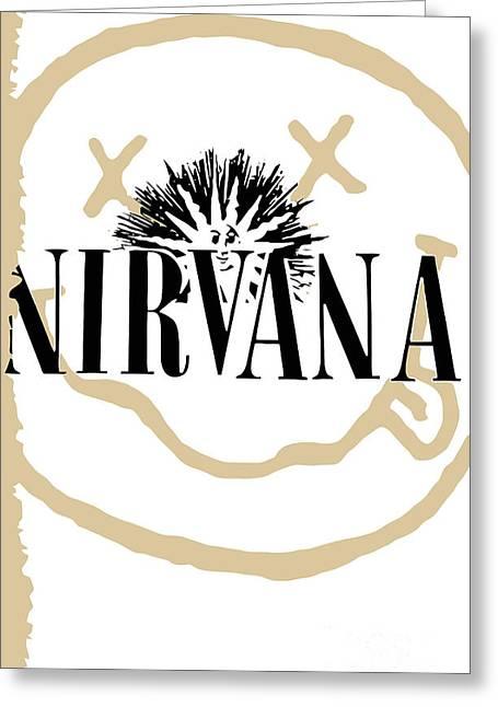Nirvana No.06 Greeting Card