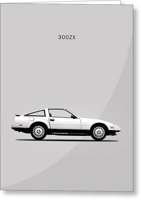 Nissan 300zx 1984 Greeting Card by Mark Rogan